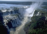 One-in-the-world Iguazu falls